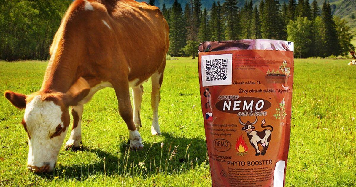 Bio Hovězí trus z ekofarmy NEMO Cowpoo 660ml